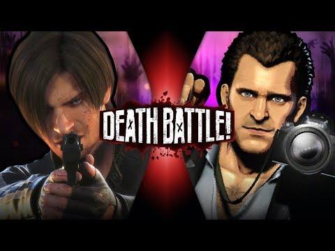 DEATH BATTLE! - Leon Kennedy VS Frank West (Resident Evil VS Dead Rising) | DEATH BATTLE