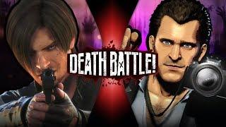 Leon Kennedy VS Frank West (Resident Evil VS Dead Rising)   DEATH BATTLE!