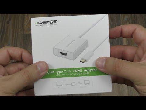 Переходник Ugreen USB-C to HDMI 4K для Macbook + ОБЗОР и ТЕСТ ► Посылка из Китая / AliExpress