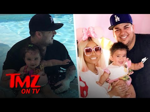 Rob Kardashian and Blac Chyna's Baby May Need a Therapist Someday | TMZ TV
