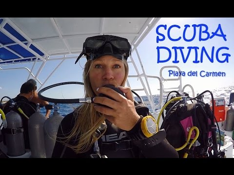 The Blonde Abroad – Scuba Diving in Playa del Carmen Mexico
