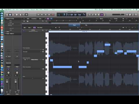 Logic Pro X – Video Tutorial 23 – Flex Pitch and Vocal Tuning