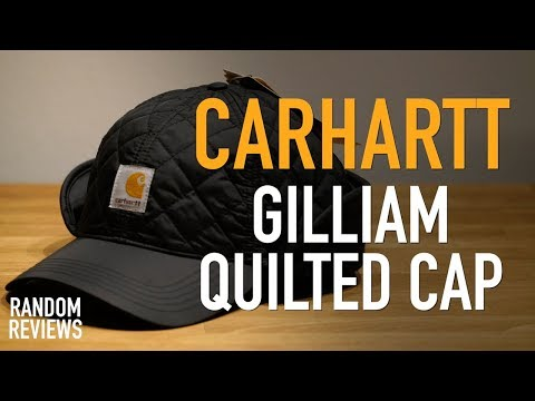 Best Water Repellent Cap? Carhartt Gilliam Quilted Cap – Review