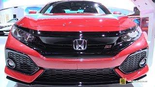 2017 Honda Civic Si Coupe - Exterior and Interior Walkaround - Debut at 2016 LA Auto Show
