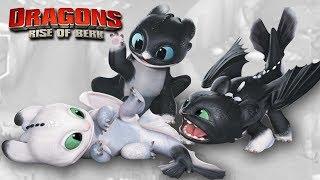 NIGHT LIGHTS BABIES!!! - DRAGONS : Rise Of Berk   Ep25 HD
