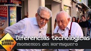Melquiades enseña a los jóvenes las tecnologias de los años 80 - El Hormiguero 3.0