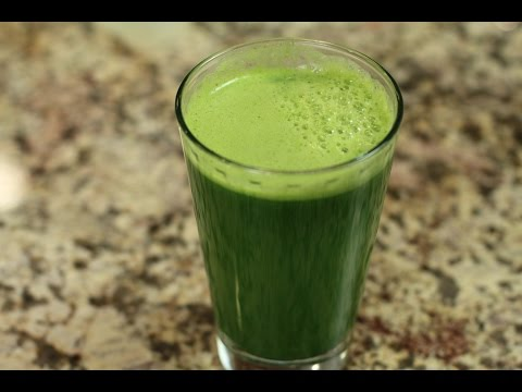 Video Green Juice - The Best Energy Drink! by Rockin Robin