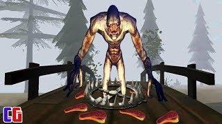 УСТРОИЛ ЗАСАДУ на МОСТУ и ПОЙМАЛ САМОГО ОПАСНОГО РЕЙКА Игра Rake Monster Hunter от Cool GAMES