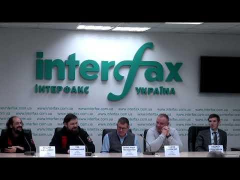 Пресс-конференция по поводу обысков МВД в Ukrainian Cyber Alliance