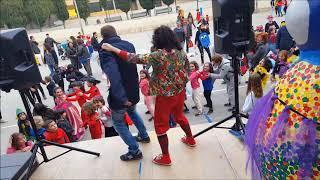 Animación infantil en la escuela La Muntanyeta de Barcelona por Carnaval