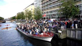 Zididada concert in christian havns canal on a boat 2011-08-19