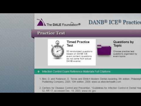 DANB ICE Practice Test - YouTube