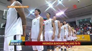 Kalahkan Thailand, Timnas Basket Indonesia Melaju ke Final