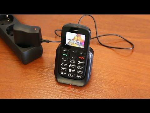 Мобильный телефон VERTEX C305  черный