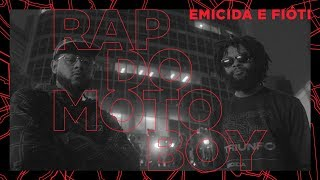 Emicida e Fióti - Rap do Motoboy (Clipe Oficial)