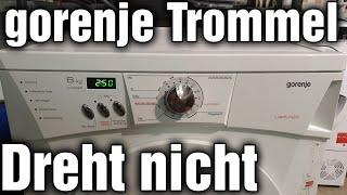 Gorenje Wäschetrockner - Trommel dreht nicht anlaufkondensator defekt
