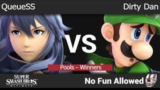 NFA 3 - QueueSS (Lucina) vs DDPC | Dirty Dan (Luigi, Inkling) Pools - Winners - SSBU