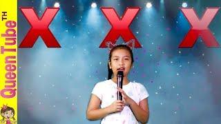 น้ำยาวิเศษ? น้องควีนประกวดร้องเพลง ละครสั้น | Queen's Singing Contest Skit | QueenTubeTH ✔︎