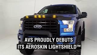 AVS (753189): Aeroskin LightShield™ Hood Protector for '19-'20 Ram 2500/3500
