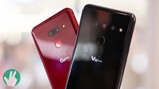 LG G8 ThinQ and LG V50 ThinQ 5G: A further look