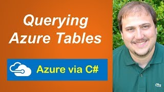 Azure via C# - Querying Azure Tables