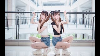 【Ô Nông x Nãi Nãi】Dance 《Học Mèo Kêu》❤【呜哝x奶果】Dance 学猫叫 (ฅ́˘ฅ̀)