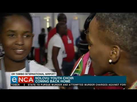Ndlovu Youth Choir coming back home