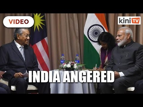 India may restrict imports from Malaysia over Dr M's comments on Kashmir