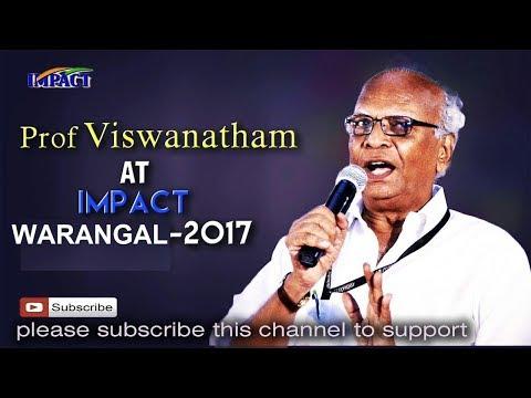 Give Up To Live Up |V Viswanadham | TELUGU IMPACT Warangal 2017