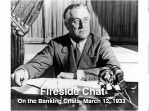 FDR Gave His First Fireside Chat 80 Years Ago Today