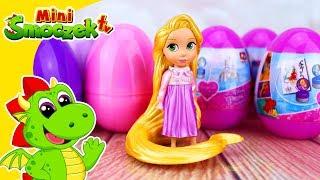 Księżniczki Disneya: Roszpunka i Jajka Niespodzianki Zabawki Bajki Dla Dzieci Po Polsku