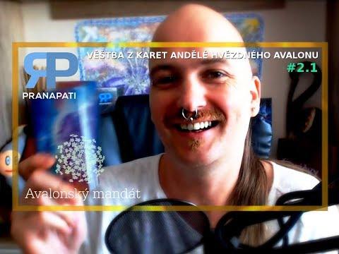 Avalonský mandát #2.1 - věštba z karet Andělé hvězdného Avalonu