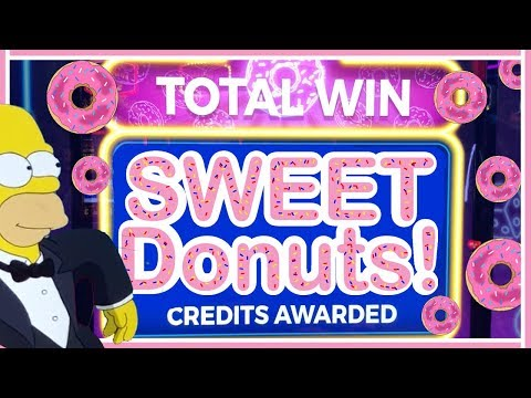 😍🍩 Sweeeet Donuts are the BEST 👅 The Simpsons Slot Machine ✦ Brian Christopher