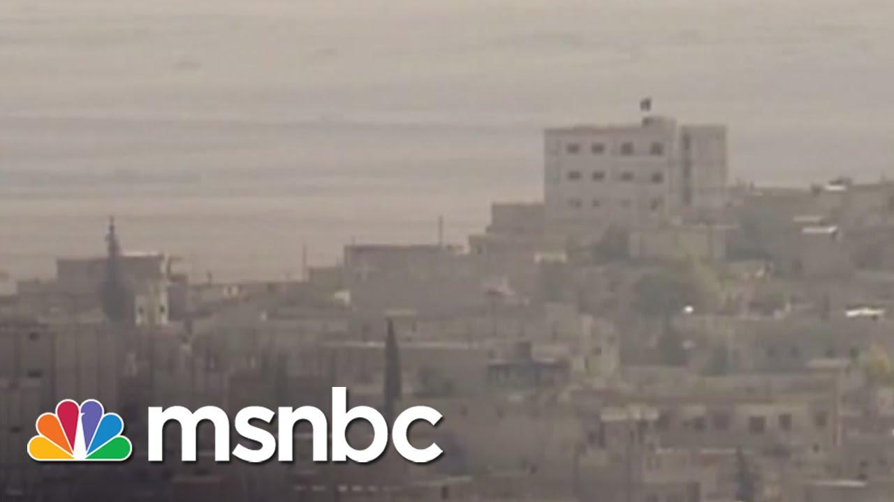 ISIS Raises Flag On Turkish Border | msnbc thumbnail