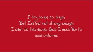 Savior, Please by Josh Wilson lyrics onscreen