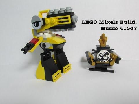 Vidéo LEGO Mixels 41547 : Wuzzo