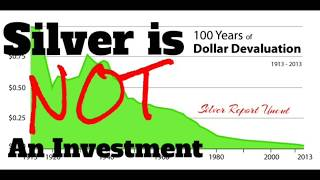 Silver Is NOT an Investment Part 1