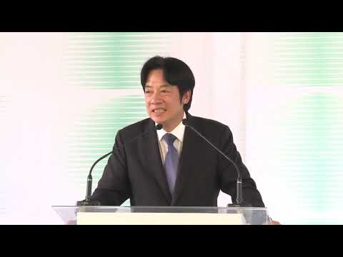 Premier Lai speaks at reopening of Hsinchu Park and Hsinchu City Glass Museum