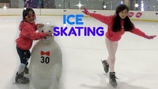 ICE SKATING with KAYCEE & RACHEL
