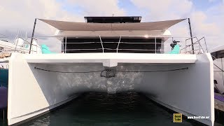 2019 Sunreef Yachts 68 Luxury Power Catamaran - Deck Interior Walkaround  2018 Cannes Yacht Festival