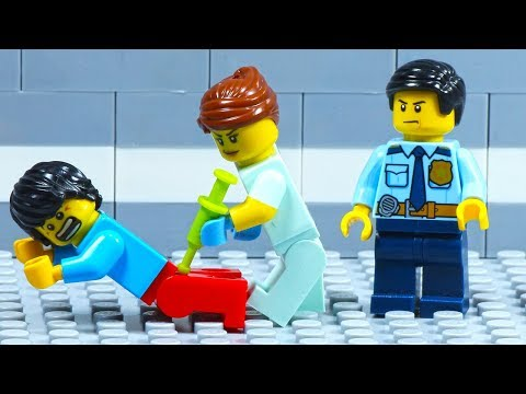 Lego City Hospital - Emergency Escape