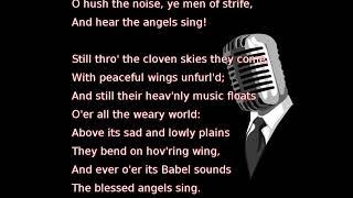 Frank Sinatra - It Came Upon a Midnight Clear (lyrics)