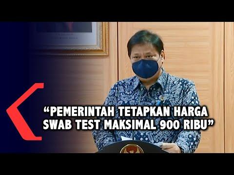 pemerintah tetapkan harga swab test maksimal ribu