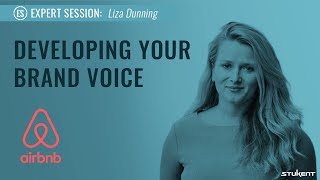 Developing Your Brand Voice - Liza Dunning