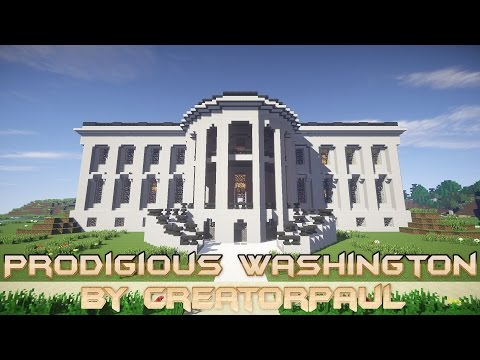 Prodigious Washington by CreatorPaul Minecraft Project