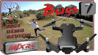 MJX BUGS 7 Drone GPS 4K 245g - Review Test Démo - Petit, pas cher et efficace !