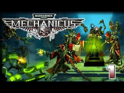 Praise the Omnissiah! – Warhammer 40,000 #Mechanicus Gameplay – First Taste (1/2)