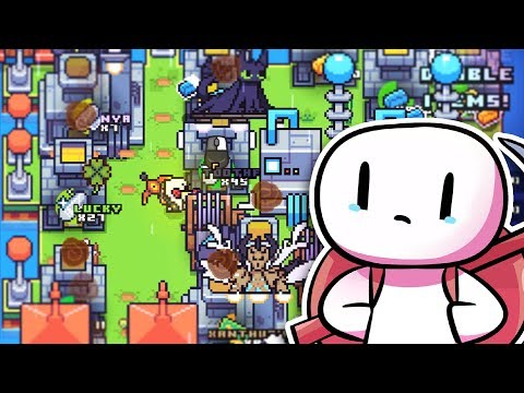 When I Build EVERYTHING On ONE ISLAND And This Happens in Forager