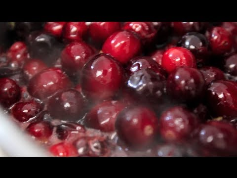Homemade Cranberry Sauce-How to and Recipe | Byron Talbott
