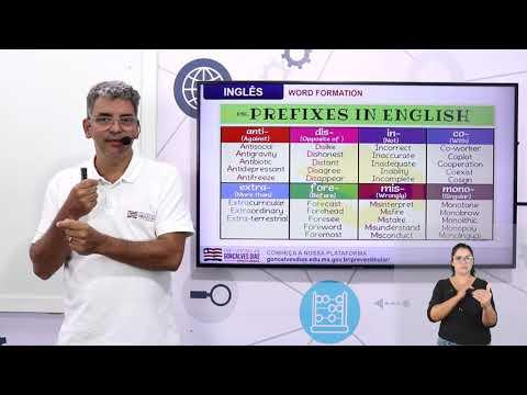 Aula 08 | Word Formation: Prefixes and Suffixes - Parte 01 de 03 - Inglês